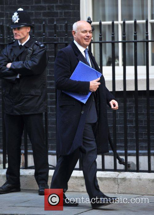 Ian Duncan Smith Ministers arrive at 10 Downing...