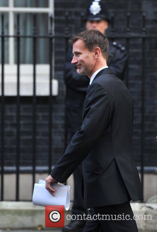 Jeremy Hunt Ministers arrive at 10 Downing Street...