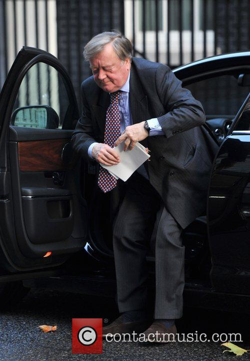 Kenneth Clarke Ministers arrive at 10 Downing Street...