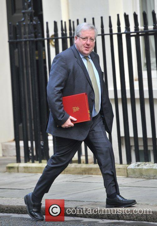 Patrick McLoughlin Ministers arrive at 10 Downing Street...
