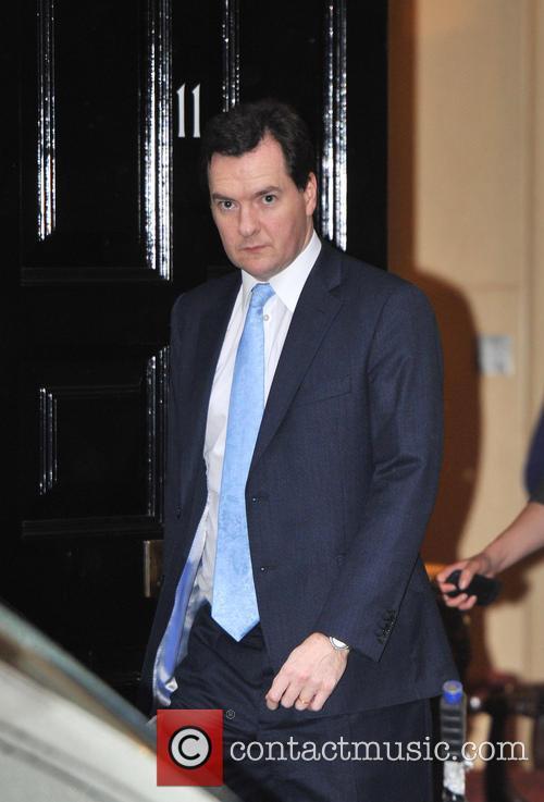 Chancellor George Osborne leaves Downing Street on his...