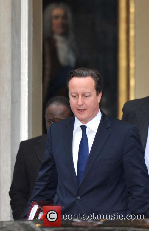 Prime Minister David Cameron  leaves 10 Downing...