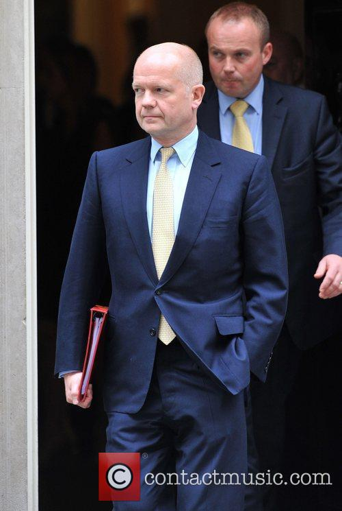William Hague and 10 Downing Street 3