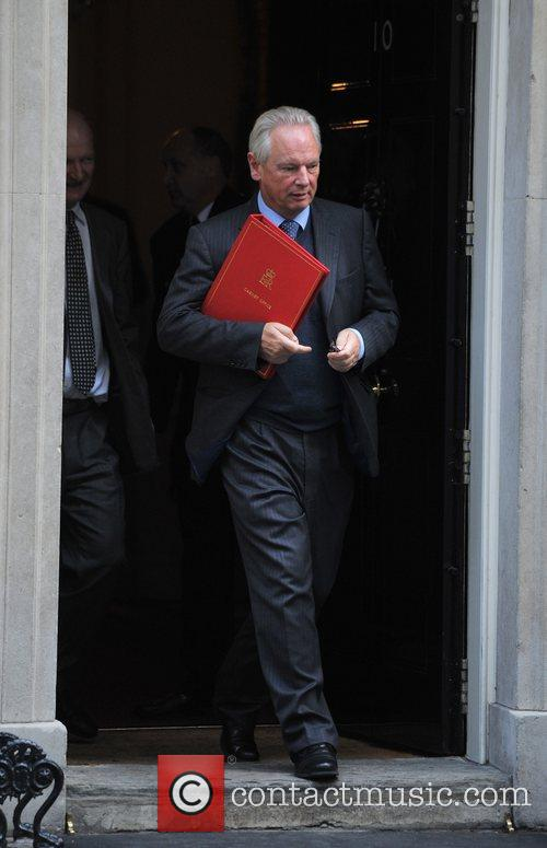 Francis Maude Ministers leave 10 Downing Street after...