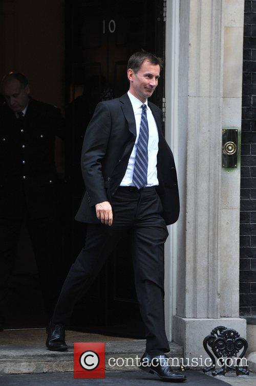Jeremy Hunt Ministers leave 10 Downing Street after...