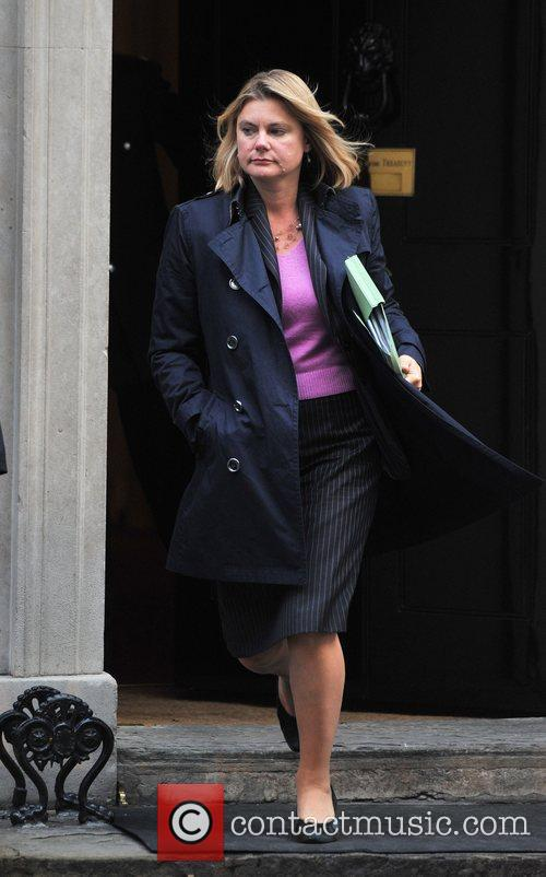 Justine Greening Ministers leave 10 Downing Street after...