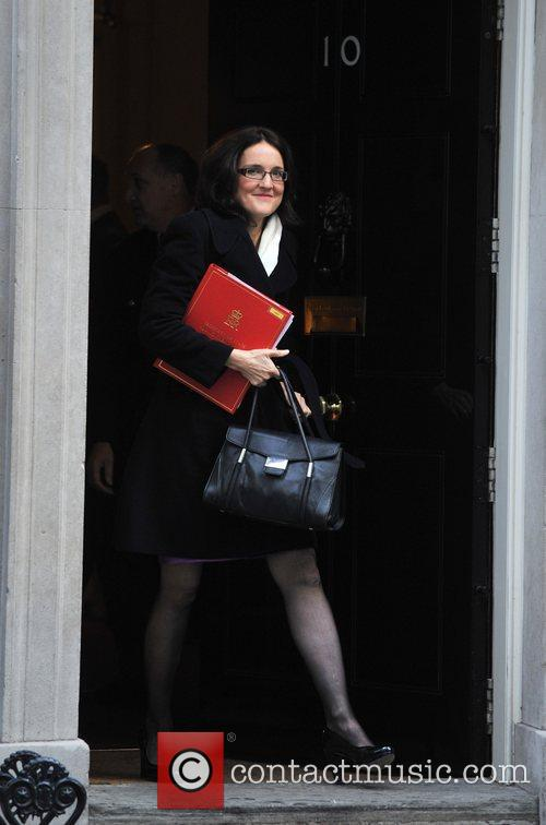Theresa Villiers Ministers leave 10 Downing Street after...