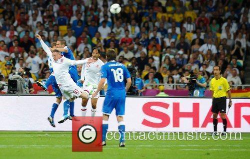 Match Action UEFA Euro 2012 - England 0...