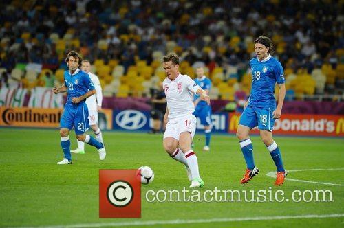 Scott Parker UEFA Euro 2012 - England 0...