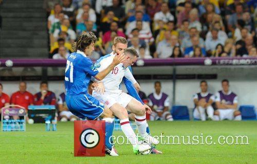 Wayne Rooney UEFA Euro 2012 - England 0...