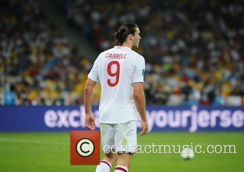 Andy Carroll UEFA Euro 2012 - England 0...