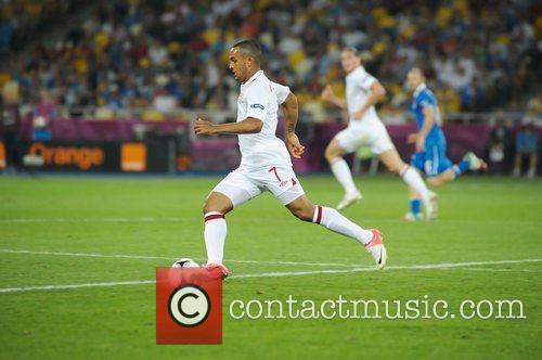 Theo Walcott UEFA Euro 2012 - England 0...