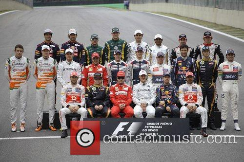 Fernando Alonso, Michael Schumacher, Sebastian Vettel, Lewis Hamilton, Brazilian Formula, Grand Prix and Interlagos 3