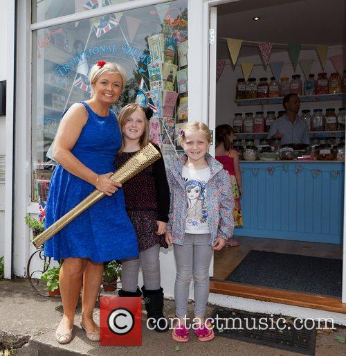 Helen Beveridge, Maddie and Caitlin Lancastle A local...