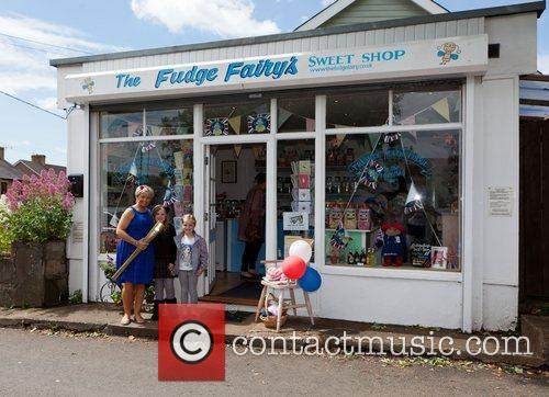 A local shop sweet shop in Magor, Wales...