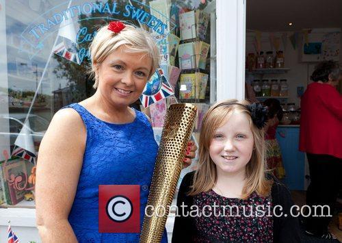 Helen Beveridge, Maddie Lancastle A local shop sweet...
