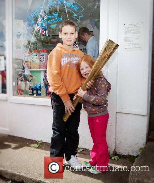 Local children  A local shop sweet shop...