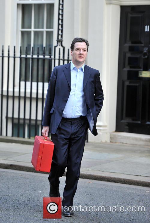 Featuring: Chancellor George OsborneWhere: London, United Kingdom