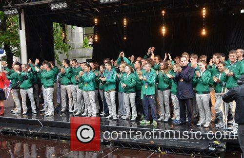Irish 2012 Olympic Team A civic reception is...