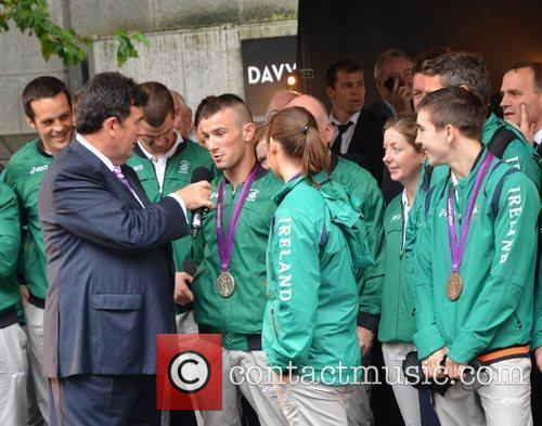 John Joe Nevin, Katie Taylor and Des Cahill...