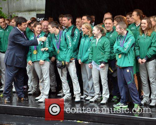 Michael Conlon, Katie Taylor, Des Cahill and Paddy...