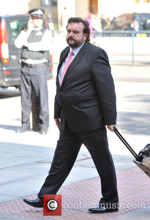Solicitor for John Terry, arrives at Westminster Magistrates...
