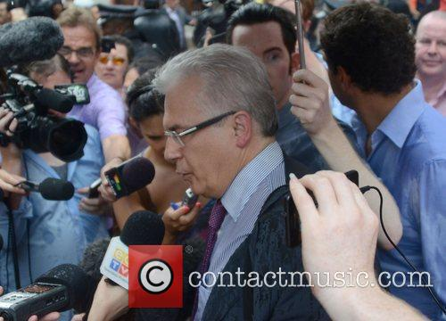 Baltasar Garzon Julian Assange makes a statement from...