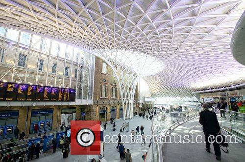 Atmosphere The new £550 million concourse at Kings...