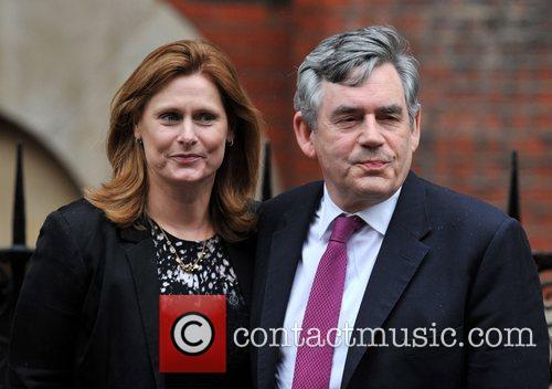 Gordon Brown, Justice and Sarah Brown 3