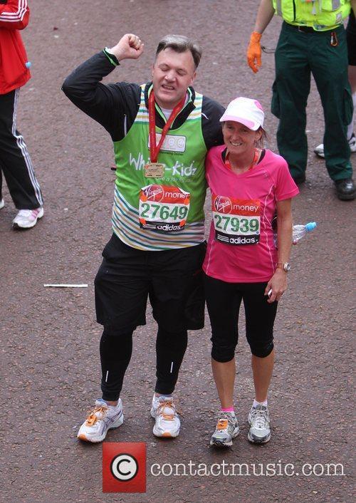 Ed Balls The 2012 Virgin London Marathon London,...
