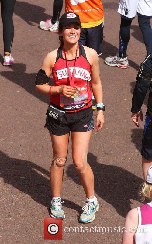 Susanna Reid The 2012 Virgin London Marathon London,...