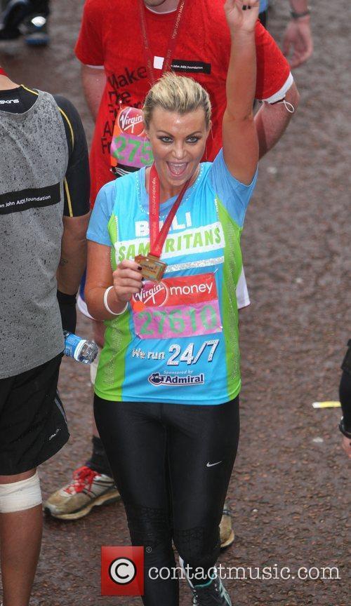 Billi Mucklow The 2012 Virgin London Marathon London,...
