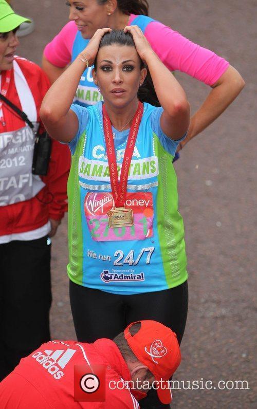 Cara Kilbey The 2012 Virgin London Marathon London,...