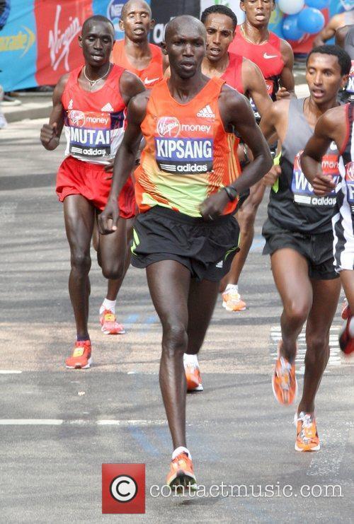 Wilson Kipsang The 2012 Virgin London Marathon London,...