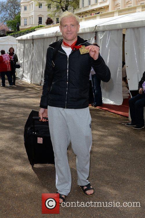 Iwan Thomas The 2012 Virgin London Marathon London,...