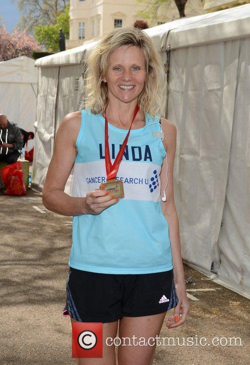 linda barker the 2012 virgin london marathon 3841479
