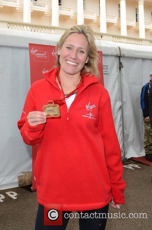 Sophie Raworth The 2012 Virgin London Marathon London,...