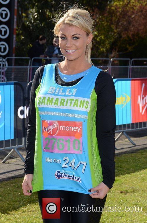 Billi Mucklow The 2012 Virgin London Marathon -...