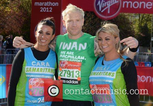 Cara Kilbey, Iwan Thomas and Billi Mucklow The...