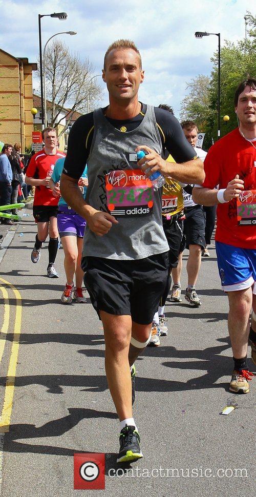Calum Best The 2012 Virgin London Marathon London,...