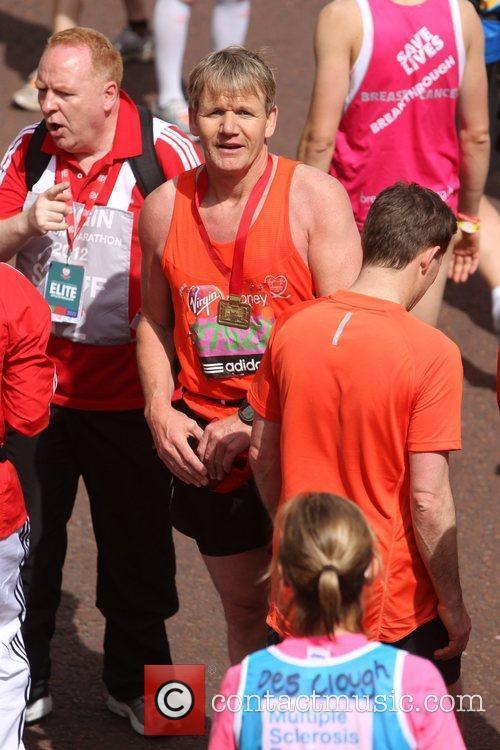 Gordon Ramsay The 2012 Virgin London Marathon London,...