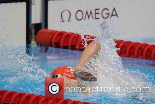 Men's 400m Freestyle S7. Josef Craig (GBR) in...
