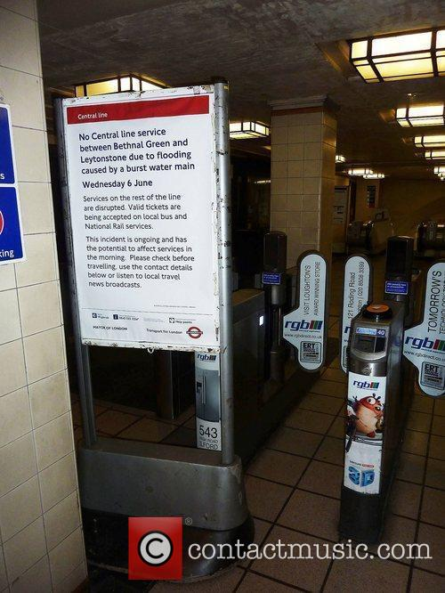 No Central Line on the London Underground between...