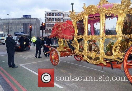The 2012 Lord Mayor's Show Parade through Central...
