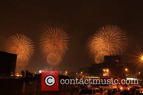 The Macy's Fourth of July Fireworks Display on...