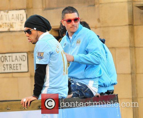 Manchester City Premier League Title victory parade.