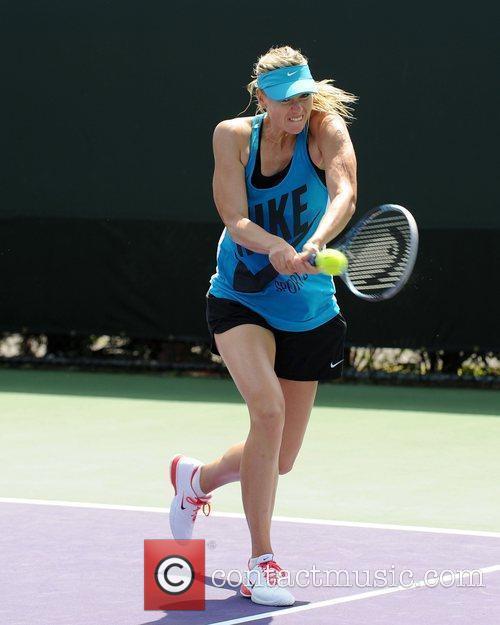 Maria Sharapova, Sony and Tennis 5