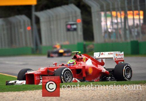 Felipe Massa Australian Formula One Grand Prix at...