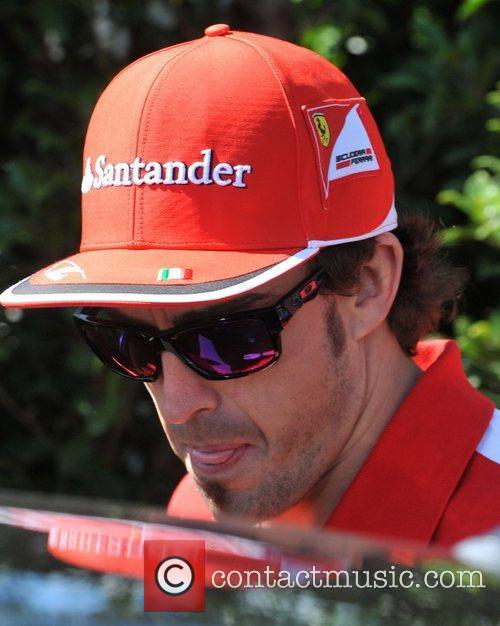 Fernando Alonso Australian Formula One Grand Prix at...