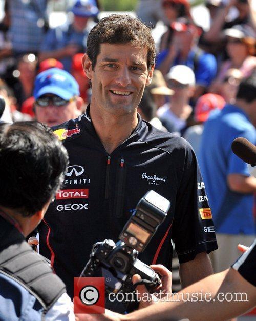 Mark Webber Australian Formula One Grand Prix at...